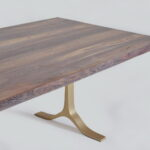 Thumbnail of http://Bespoke%20Conference%20Table%20Reclaimed%20Wood%20on%20Brass%20Bases